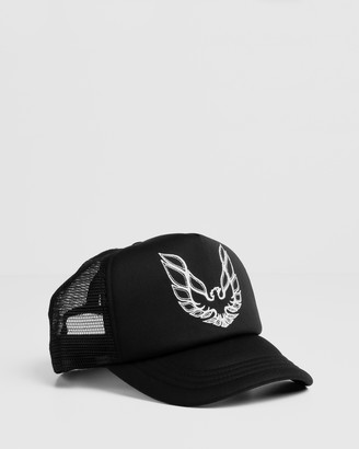 ONEBYONE - Men's Black Caps - Firebird Trucker - Size One Size at The Iconic