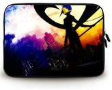 Angelinana Anime Custom Cover Bag Laptop Sleeve Case Water Resistant for 15.6 inch(Twin Sides)