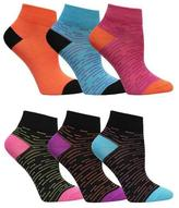 Fruit of the Loom Girls 6-Pack Of Flat-Knit Crew Socks