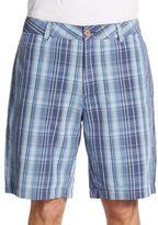 Tailor Vintage Plaid Hybrid Walking Shorts