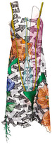 Christopher Kane Random Arrow Embroidered Cami Dress
