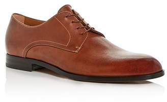 BOSS Men's Brighton Leather Plain-Toe Oxfords