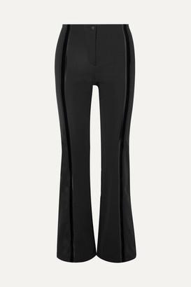Fendi Roma Stretch-cady Flared Ski Pants - Black