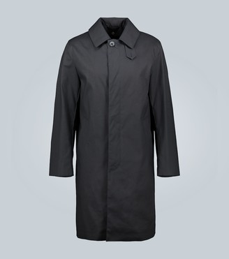 MACKINTOSH Dunkeld bonded cotton coat with detachable warmer