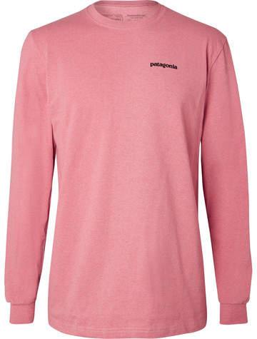 Patagonia P-6 Responsibili-Tee Printed Cotton-Blend Jersey T-Shirt