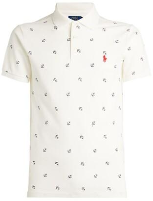 Polo Ralph Lauren Anchor Print Polo Shirt