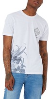 Topman Above & Beyond NYC Slim Fit Graphic T-Shirt