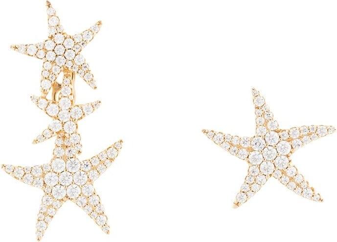Ete asymmetric starfish underlobe and stud