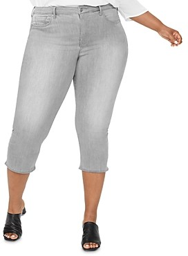 Nydj Plus Capri Jeans in Gale