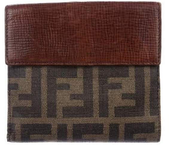 9b2ad4d508 Zucca Compact Wallet Brown Zucca Compact Wallet