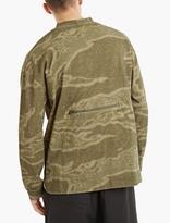 Yeezy Green Pocket-Detail Sweatshirt