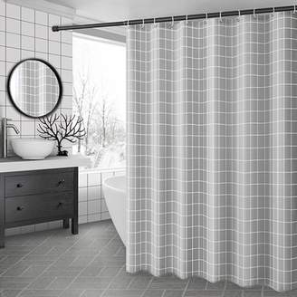 +Hotel by K-bros&Co Kadell 71'' X 71'' Mildew Resistant Waterproof Shower Curtains for Bathroom Home Hotel, 3 Styles