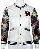 GQMART Fashion Kids Girls Baseball Jacket Long Sleeve Coat Clothes Outwear