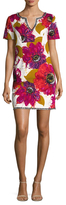 Trina Turk Belden Floral Printed Shift Dress