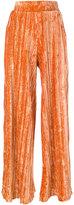 Aviu pleated pants - women - Polyester/Spandex/Elastane - 42