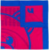 Moschino teddy motif scarf