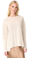 Pringle Long Sleeve Asymmetrical Sweater