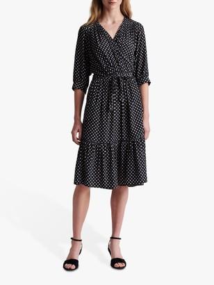 Gerard Darel Sasha Spotted Midi Dress