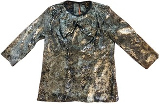 Louis Vuitton Anthracite Glitter Top for Women