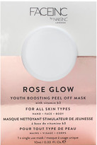 Nails Inc FACEINC by Rose Glow Peel Off Pod Mask 10ml