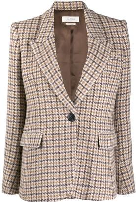 Etoile Isabel Marant Fitted Check Blazer