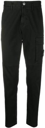 Stone Island Cargo-Pocket Slim Trousers