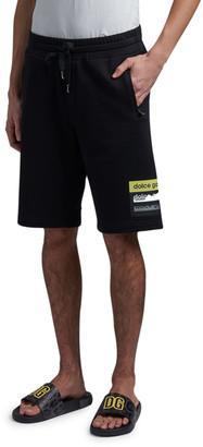 Dolce & Gabbana Men's Logo Tape Sweat Shorts