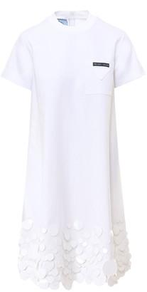 Prada Sequins T-Shirt Dress