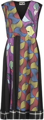 Hache 3/4 length dresses