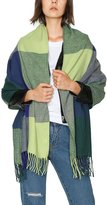 Urban CoCo Women's Classic Tartan Blanket Scarf & Wrap Shawl