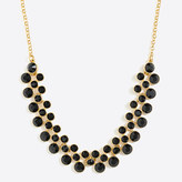 J.Crew Factory Crystal bubbles necklace