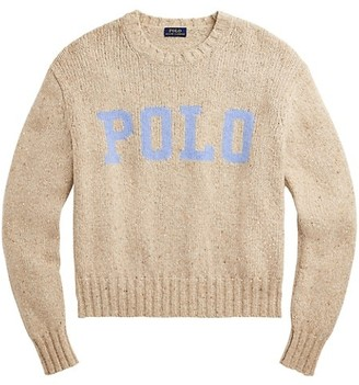 Polo Ralph Lauren Classic Logo Wool & Cashmere-Blend Sweater