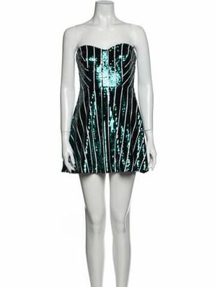 Nbd X Naven Twins Printed Mini Dress w/ Tags Green