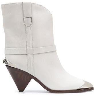 Isabel Marant Metal Toecap Leather Boots