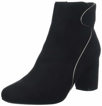 The Divine Factory Women's Diamante Closed Toe Heels