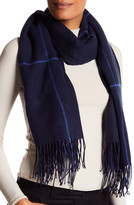 Vince Camuto Brushed Long Skinny Scarf