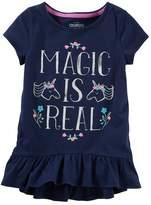 Osh Kosh Toddler Girl Ruffled Tunic Top