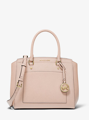 Michael Kors Park Large Saffiano Leather Satchel
