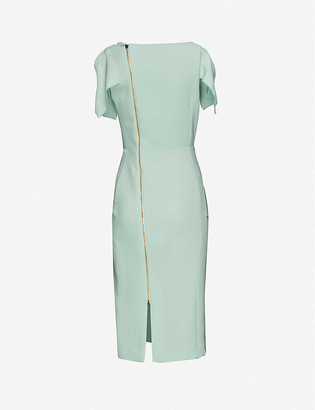 Roland Mouret Vernon wool midi dress