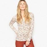 Anne Weyburn Slub Cotton T-Shirt