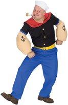 Fun World Costumes Fun World mens Adult Popeye Costume