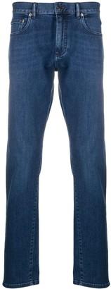 Ermenegildo Zegna Straight-Leg Mid-Rise Jeans