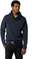 Tommy Hilfiger Garment Dyed Shawl Collar Sweater
