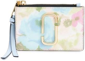 Marc Jacobs The Watercolor Snapshot top zip wallet