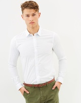 Scotch & Soda Cotton Stretch Shirt
