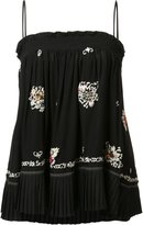 Derek Lam 10 Crosby embroidered skirt & blouse - women - Silk - 0