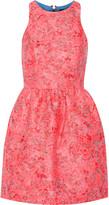 Markus Lupfer Erica brocade mini dress