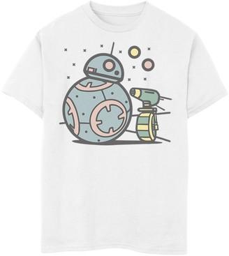 Licensed Character Boys 8-20 Star Wars The Rise of Skywalker Droid Cuties Tee