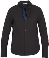 J.W.Anderson Tie-neck cotton shirt