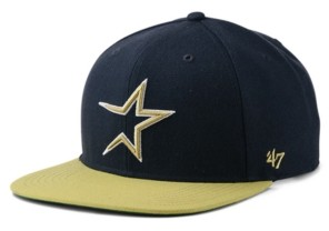 '47 Houston Astros Coop Shot Snapback Cap